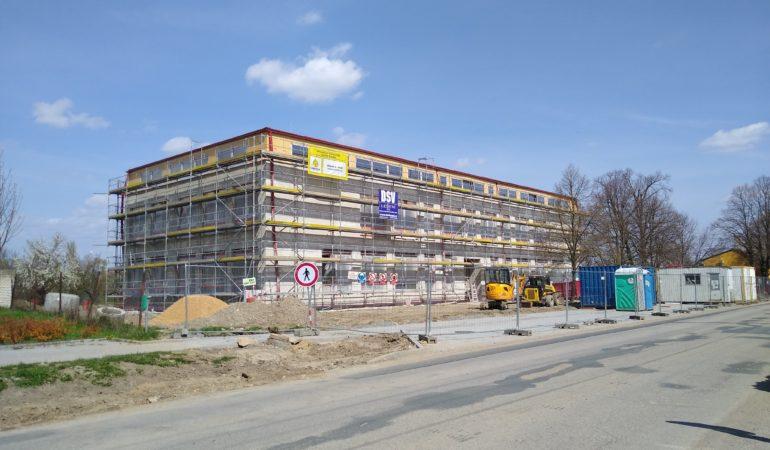 Výstavba nové budovy